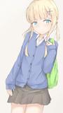 金髪女子高生