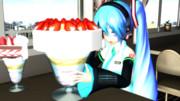 イチゴケーキパフェ?