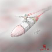 可変攻撃型MS「Gモン・核ミサイル搭載型」