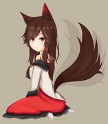 しっぽふりふり影狼さん