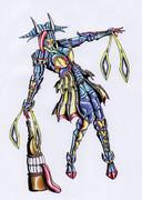 オリジナル怪人/二口女