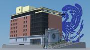 【Minecraft】KAD〇KAWA本社ビル作ってみた