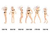 身長差体重差