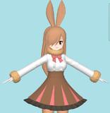 ウサギのやばい方作ってる