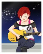 ジュリア誕生日!