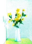 ワンドロのお題で描いた花瓶
