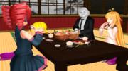和食のごちそう=お寿司という安易な発想 by やる夫