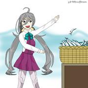 清霜と秋刀魚