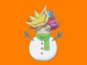 雪だるまと化した藤木ゆうさくOB.playmaker