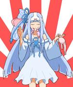 お姉ちゃん入浴時の葵ちゃん