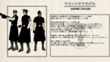 【MMDモデル配布】マリーン・ドラウグル【MMDオリキャラ】