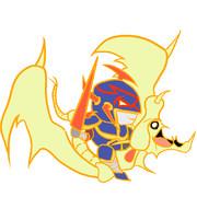 デフォルメ竜騎士ガイア