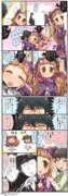小悪魔の気持ちを覚えた仁奈ちゃんの漫画。