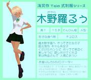 【MMDオリキャラ紹介】木野羅るぅ【#75】