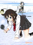 時雨とサンマ漁・・・漁?