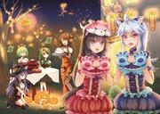 花騎士ハロウィンパーティー