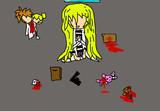 【レイチェル】殺戮の天使で「戯言スピーカー」のイメージを描いてみたよ【殺戮イラスト】