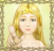 ブロンド 金髪少女