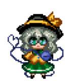 【応援絵】メガネこいしを動かしてみメガネぇぇぇ!
