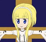 みん御像となった磔の聖女