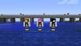 [Minecraft]護衛艦しらぬい進水記念陽炎・不知火・黒潮スキン[配布]