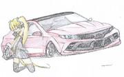 整備士の同僚が車デザインを書いてみた その1