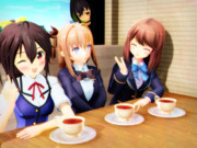 紅茶で のんびりと おしゃべり♪