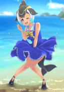 マイルカちゃんと海辺デートしたい