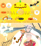 【MMD】ハロウィンドーナツ5個【アクセサリ配布】