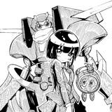 少女の剣と盾