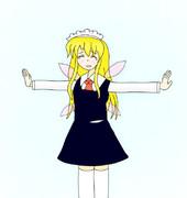 着せ替え☆メイド妖精(ルーミア)