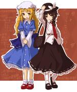 蓮子とメリー