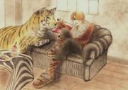 虎とサンジ