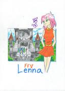 ff5:レナ。