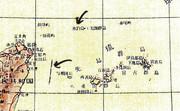 中国の60年代の地図