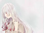 白花色の髪