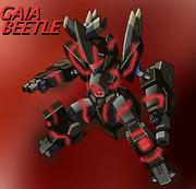 オリジナルKBT型メダロット『ガイアビートル』(敵側)