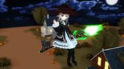 黒の魔法少女