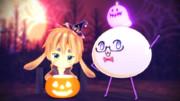かぼちゃとお化けのキャンドル【MMDアクセサリ配布】