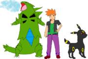 グリーンとブラッキー、それに巨影バンギラスを加える!