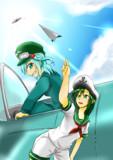 かっぱと船長と飛行機