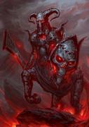 焦鉄の狂戦士