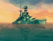 戦艦「バーラム」