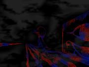 ゆめ絵2っき 赤と青のゴボゴボ