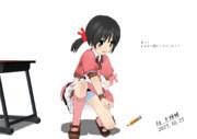 ユキちゃんと鉛筆