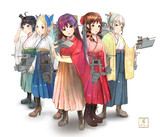 神風型五姉妹
