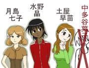RPGアツマール、キャラクター選択画面