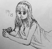 5分スケッチ 17/10/25