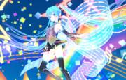 【MMD】銀獅式初音ミク_セレブレーション_ver1.01 【モデル配布】