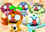 【オリケロ】鼻眼鏡パァリィ